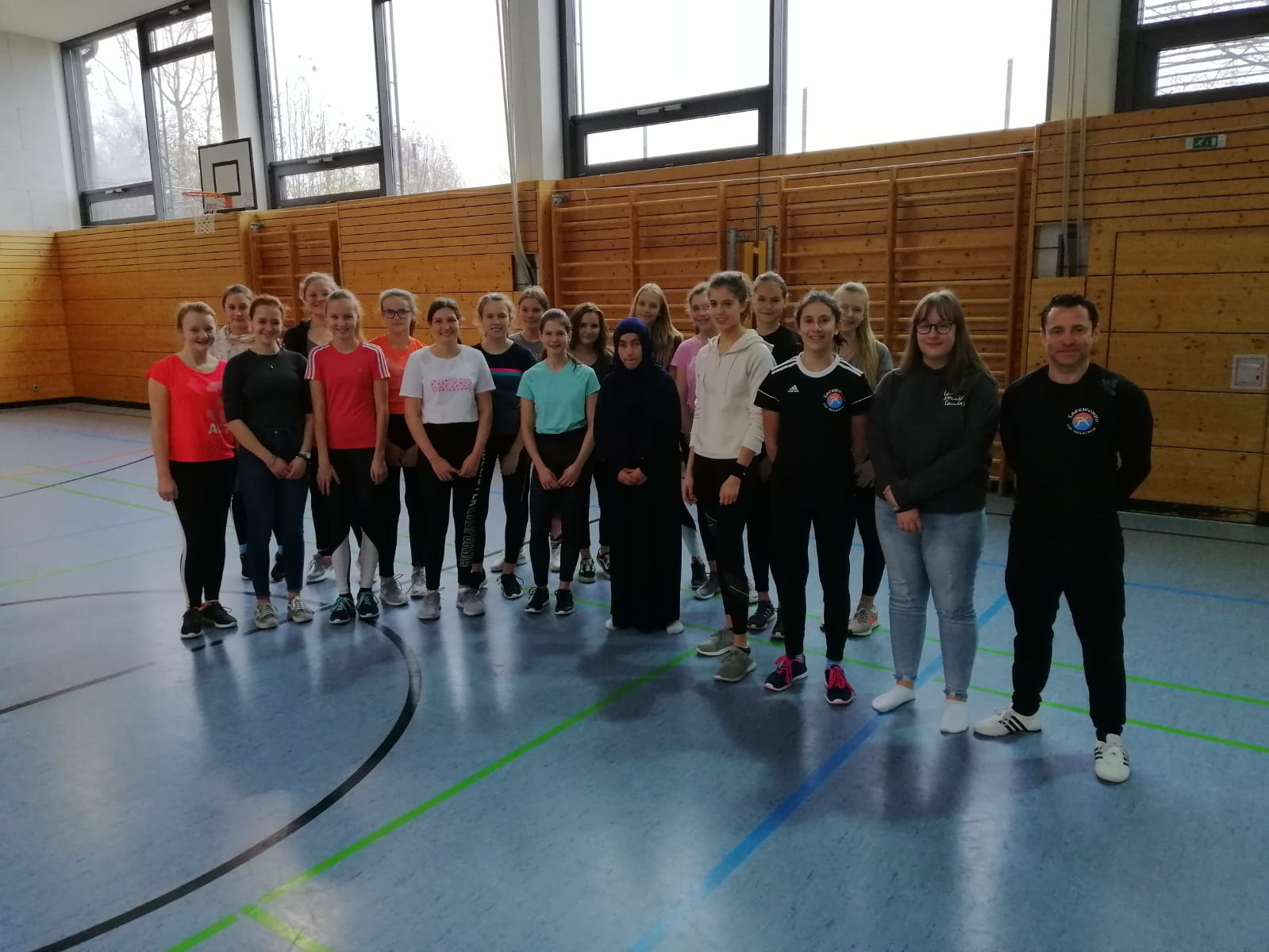SV Kurs in Untergriesbach Sparte Taekwondo TSV Wegscheid