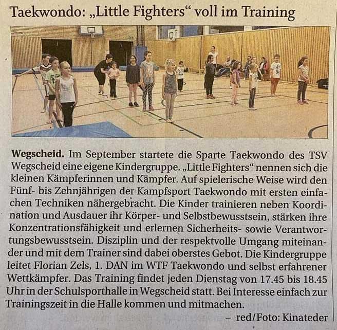 Kinder Taekwondo