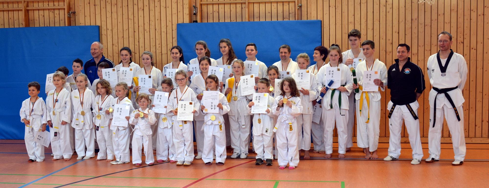 Sparte Taekwondo TSV Wegscheid Koreanische Kampfsportart